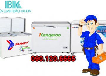 Dịch vụ sửa tủ đông tại nhà uy tín, chuyên nghiệp với đôi ngũ kỹ thuật viên có tay nghề cao, nhiều năm kinh nghiệm và có thể sửa chữa được các loại tủ đông khác nhau như: Sanaky, Kangaroo, Alaska, Denver,…