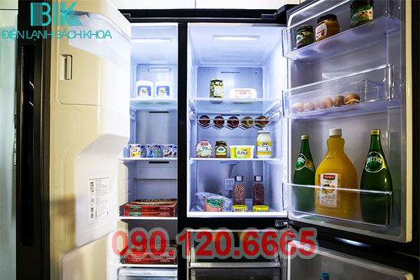Trong quá trình sử dụng tủ lạnh Samsung trong một thời gian dài sẽ không tránh khỏi những hỏng hóc và một trong những lỗi mà chiếc tủ lạnh Samsung của nhà bạn thường hay gặp phải nhất đó là tủ lạnh Samsung không lạnh. Tuy vậy, các bạn không nên quá lo lắng về lỗi này, trung tâm Điện Lạnh Bách Khoa sẽ hướng dẫn các bạn cách sửa tủ lạnh Samsung không lạnh tại nhà rất đơn giản và hiệu quả.