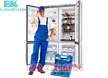 Trung tâm Điện Lạnh Bách Khoa chuyên cung cấp dịch vụ sửa tủ lạnh tại nhà quận Cầu Giấy – Hà Nội uy tín, chuyên nghiệp. Với đội ngũ nhân viên kỹ thuật có thể sửa chữa được các dòng tủ lạnh khác nhau như: Sharp, Samsung, Aqua, Hitachi, LG, Panasonic,… và có thể khắc phục được mọi vấn đề liên quan tới chiếc tủ lạnh của nhà bạn.