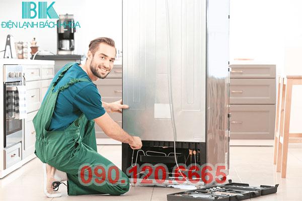 Dịch vụ sửa tủ lạnh tại nhà quận Cầu Giấy uy tín