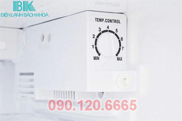 nút điều chỉnh nhiệt độ của tủ lạnh panasonic