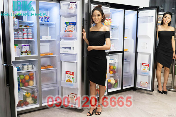 Tủ lạnh Side By Side là dòng sản phẩm tủ lạnh cao cấp, hiện đại nhất hiện nay. Trong quá trình sử dụng cũng không tránh khỏi những hỏng hóc như những chiếc tủ lạnh bình thường khác. Nhưng không vì thế mà các bạn phải lo lắng, bởi hiện nay có rất nhiều trung tâm cung cấp dịch vụ sửa tủ lạnh Side By Side tại nhà uy tín và chuyên nghiệp.
