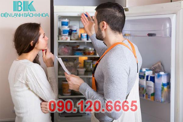 Sửa Tủ Lạnh Hitachi Tại Hoàng Mai 2